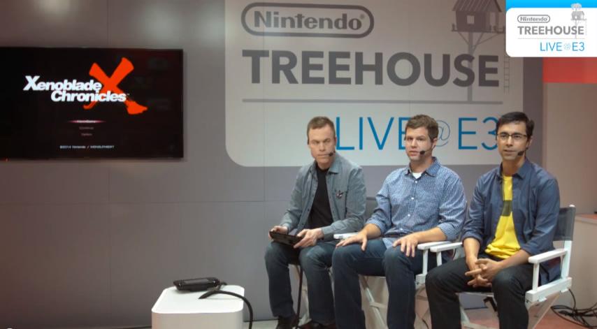 ゼノブレイドX Treehouse Live